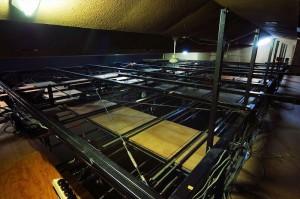 舞台天井(すのこ)